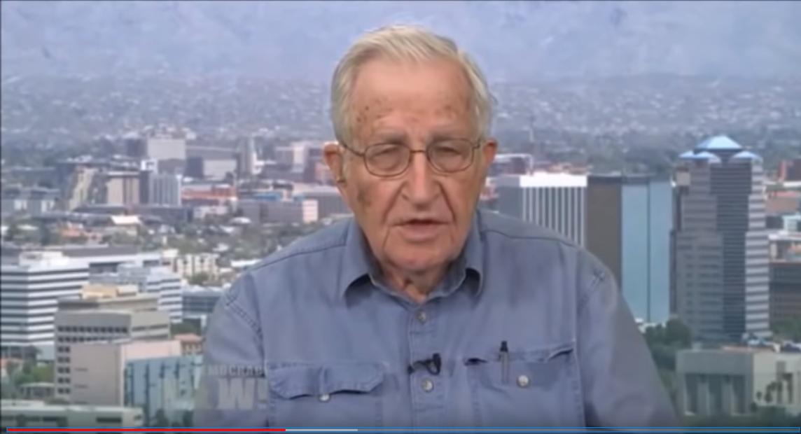 Noam Chomsky on Gaza